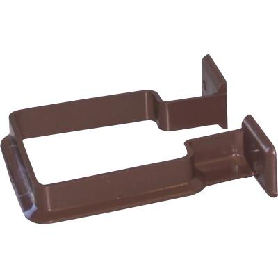 Raingo Brown Vinyl Downspout Bracket