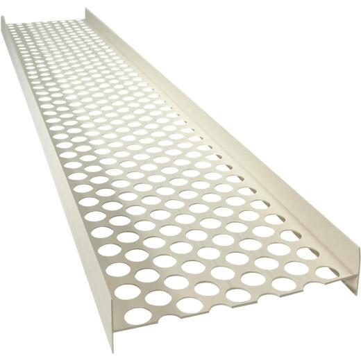 Geneva RainGo 3 Ft. White Gutter Guard