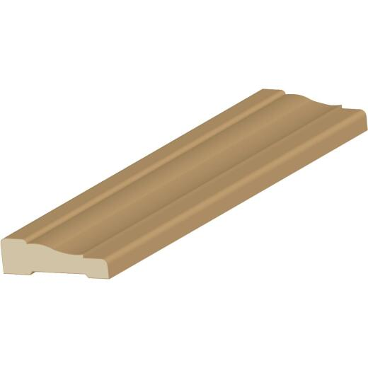 Cedar Creek WM356 5/8 In. W. x 2-1/4 In. H. x 7 Ft. L. Hemlock Fir Colonial Casing Molding