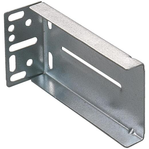 "Knape & Vogt 1-7/8"" x 3-1/2"" Zinc Drawer Slide Mounting Bracket (2-Pack)"