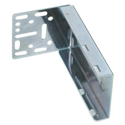 "Knape & Vogt 1-13/16"" x 3-1/2"" Zinc Drawer Slide Mounting Bracket (2-Pack)"