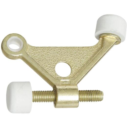 National Brass Zinc Hinge Pin Door Stop