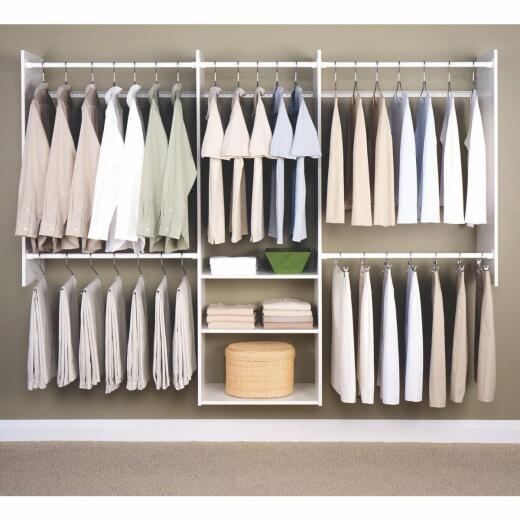 Easy Track Deluxe Starter Closet System