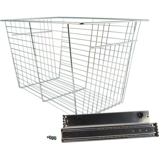 FreedomRail 13 In. Chrome Basket