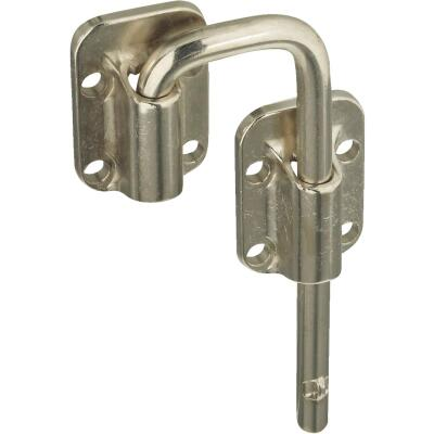 National Door 1-1/2 In. Nickel Slide Bolt