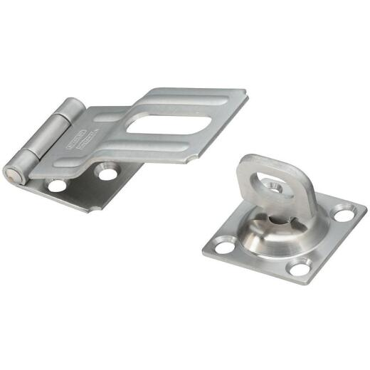 National 3-1/4 In. Stainless Steel Swivel Hasp