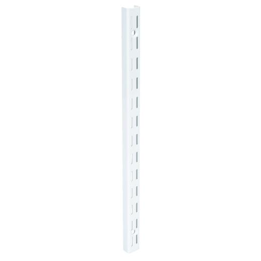 FreedomRail 16-3/4 In. White Standard Wall-Mounted Upright