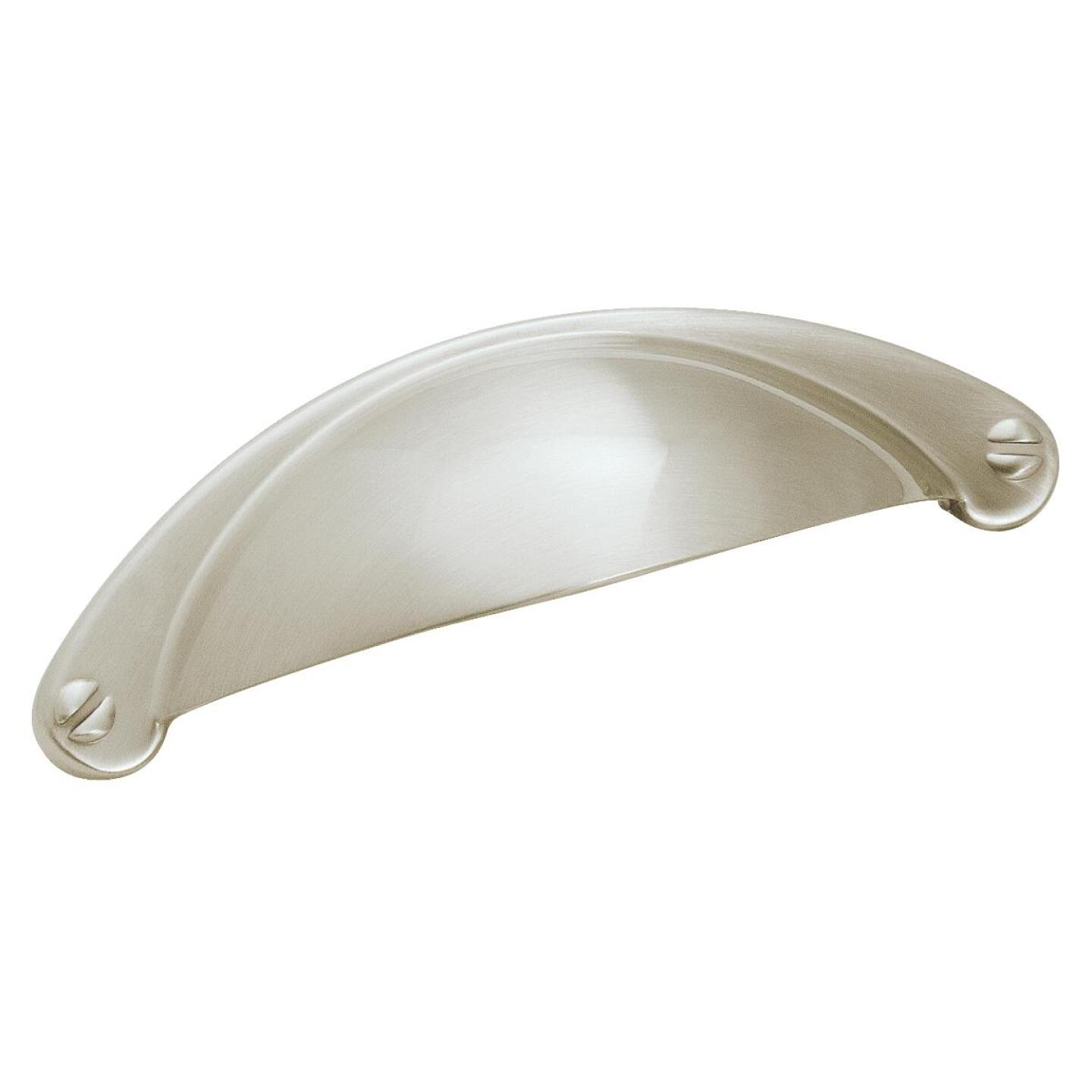 Amerock Essential'z 2-1/2 In. Nickel 2-1/2 In. Cabinet Pull Image 1