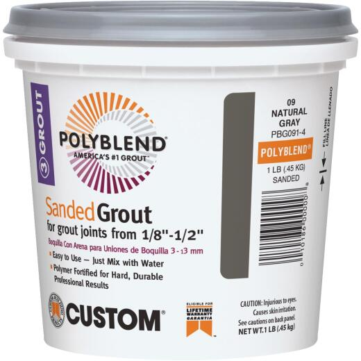 Custom Building Products Polyblend  1 Lb. Bone Sanded Tile Grout