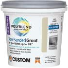 Custom Building Products Polyblend 1 Lb. Bright White Non-Sanded Tile Grout Image 1