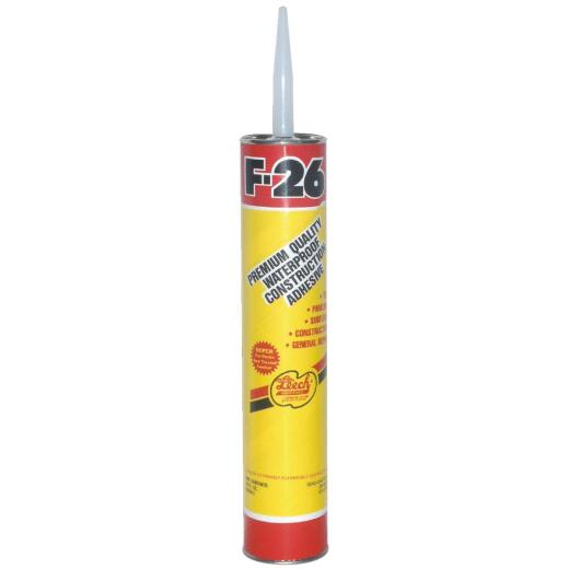 Leech F-26 28 Oz. Construction Adhesive