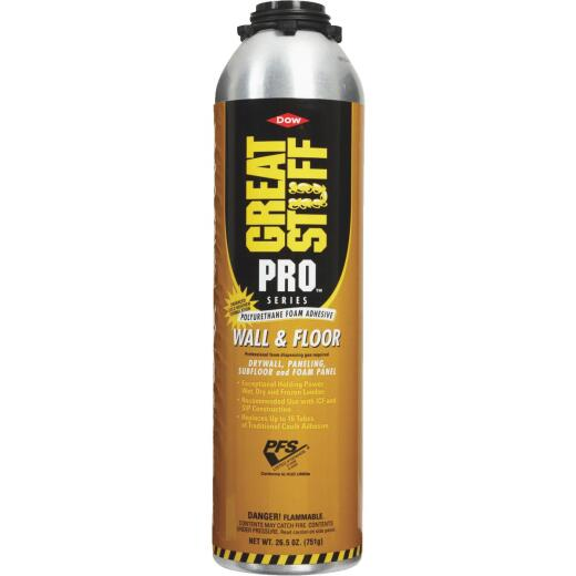 GREAT STUFF PRO 26.5 Oz. Wall And Floor Adhesive