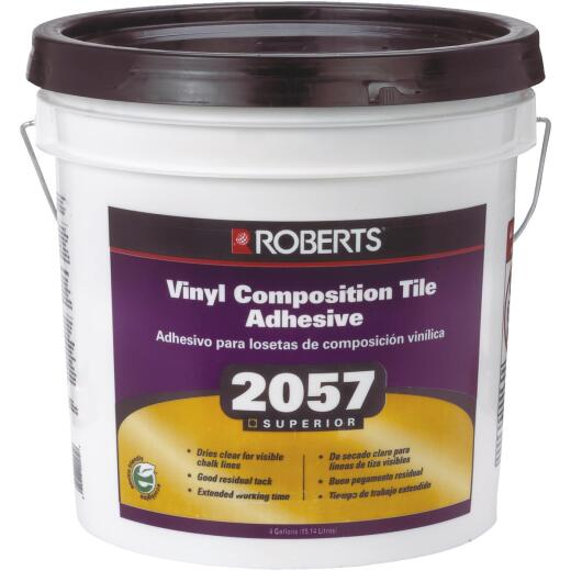 Roberts 4 Gal. Clear Thin Spread Floor Tile Adhesive