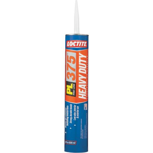 LOCTITE PL 375 28 Oz. Heavy Duty Construction Adhesive