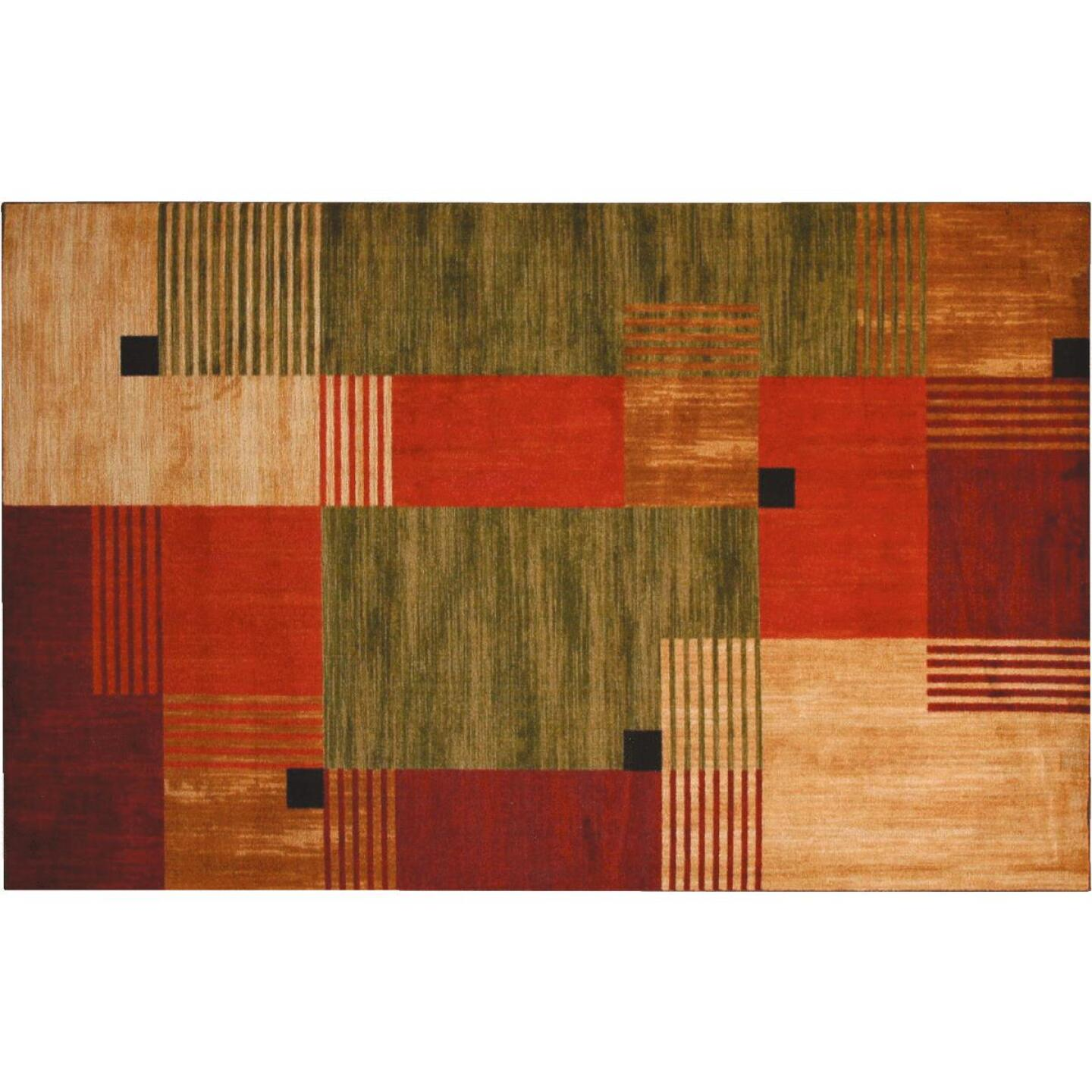 Mohawk Home Alliance Multi-Color 1 Ft. 8 In. x 2 Ft. 10 In. Accent Rug Image 1