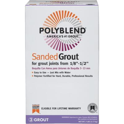 Custom Building Products Polyblend  7 Lb. Haystack Sanded Tile Grout