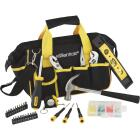 Essentials Around-the-House Homeowner's Tool Set with Black Tool Bag (32-Piece) Image 2