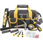 Essentials Around-the-House Homeowner's Tool Set with Black Tool Bag (32-Piece) Image 1