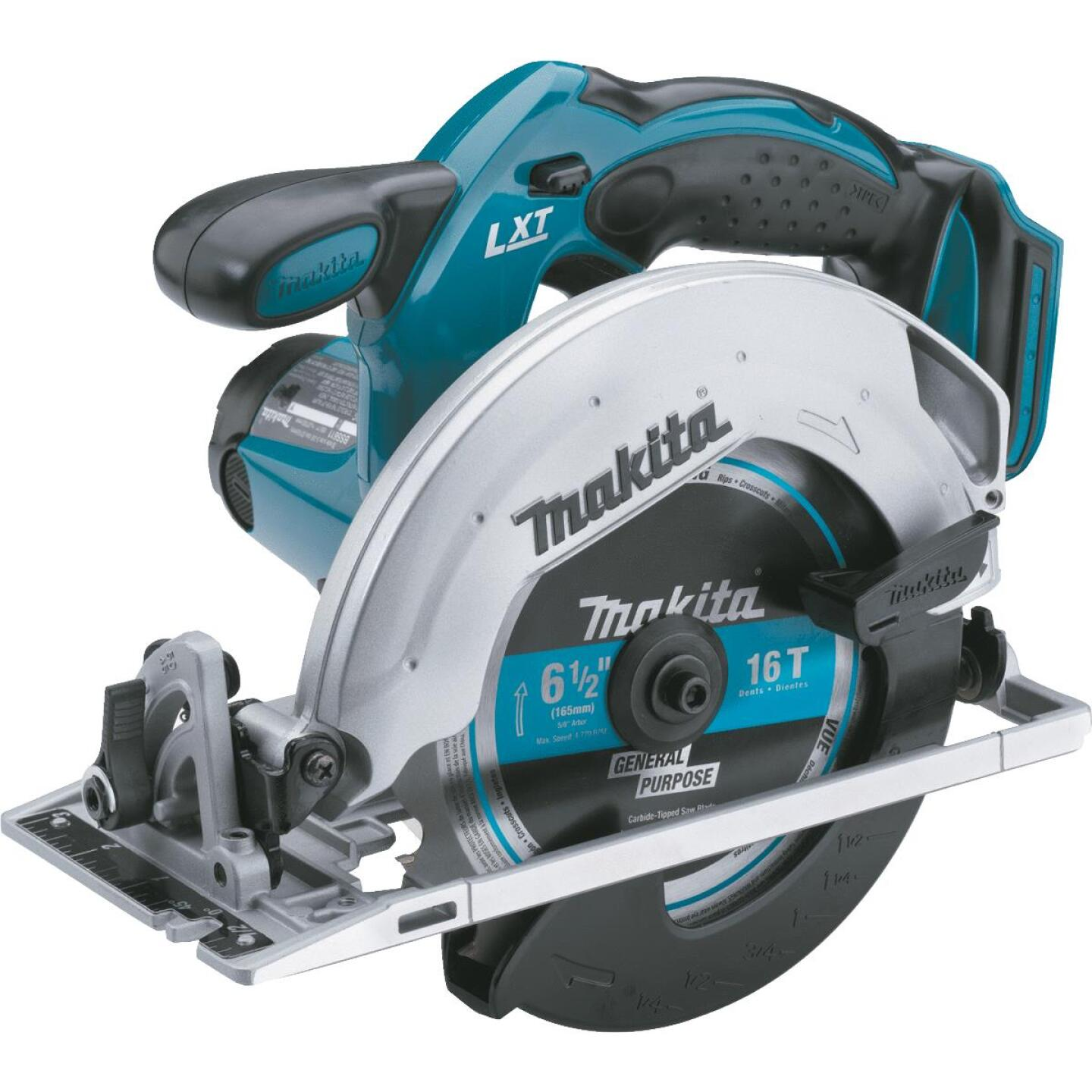 Makita 18 Volt LXT Lithium-Ion 6-1/2 In. Cordless Circular Saw (Bare Tool) Image 1