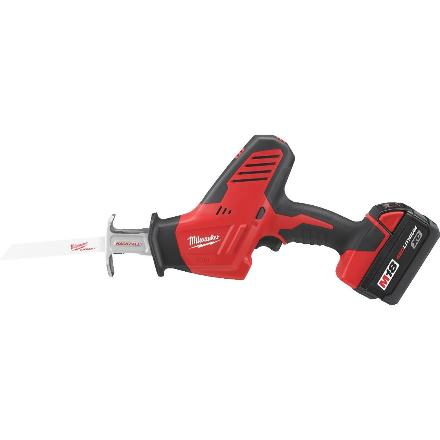 Milwaukee Hackzall M18 18-Volt Lithium-Ion Cordless Reciprocating Saw Kit Image 1