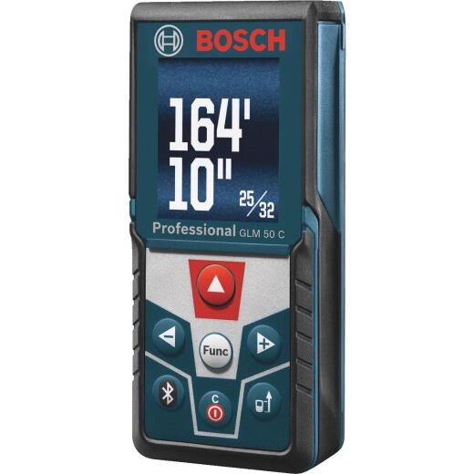 Bosch 165 Ft. Laser Distance Measurer with Bluetooth