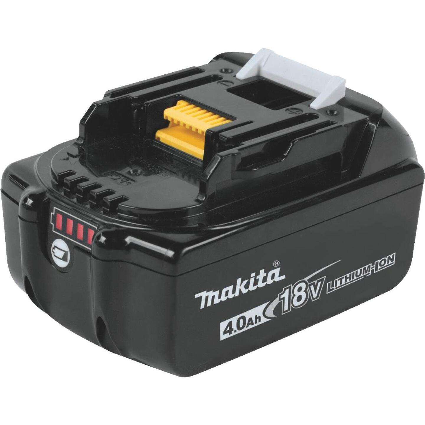 Makita 18 Volt LXT Lithium-Ion 4.0 Ah Tool Battery Image 1