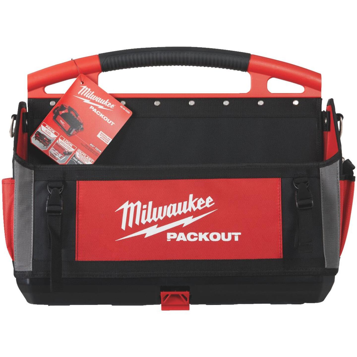 Milwaukee PACKOUT 32-Pocket 20 In. Tool Tote Image 2