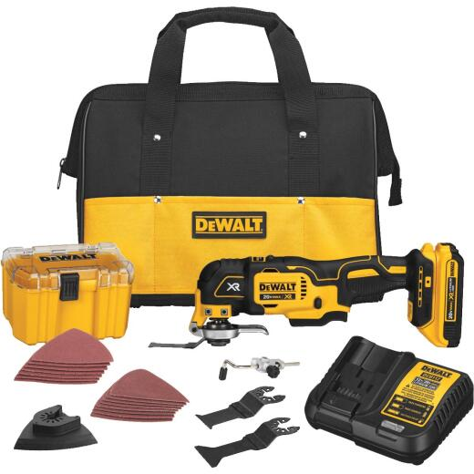 DeWalt 20 Volt MAX XR Lithium-Ion Brushless Cordless Oscillating Tool Kit