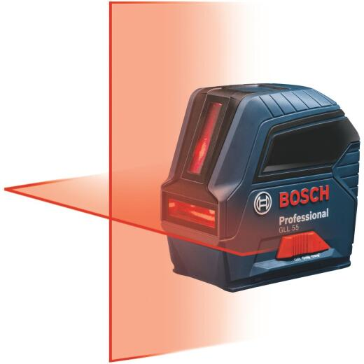 Bosch 50 Ft. Self-Leveling Professional Cross-Line Laser Level