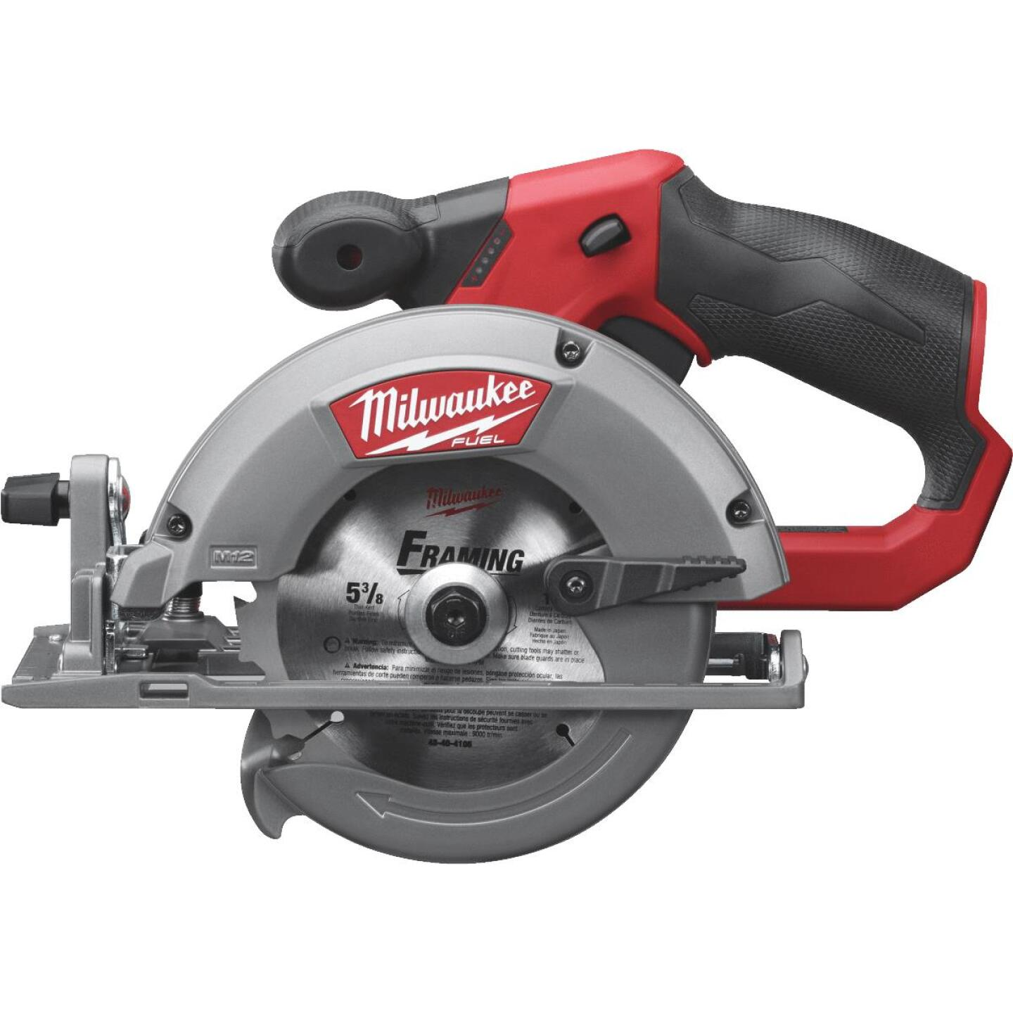 Milwaukee M12 FUEL 12 Volt Lithium-Ion Brushless 5-3/8 In. Cordless Circular Saw (Bare Tool) Image 1
