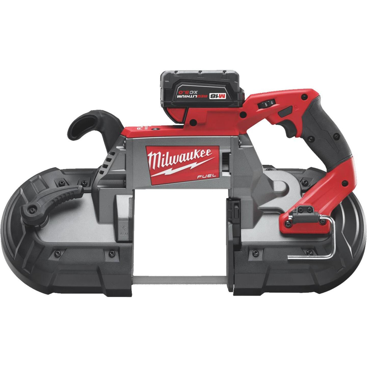 Milwaukee M18 FUEL 18 Volt Lithium-Ion Brushless Deep Cut Cordless Band Saw Kit Image 1