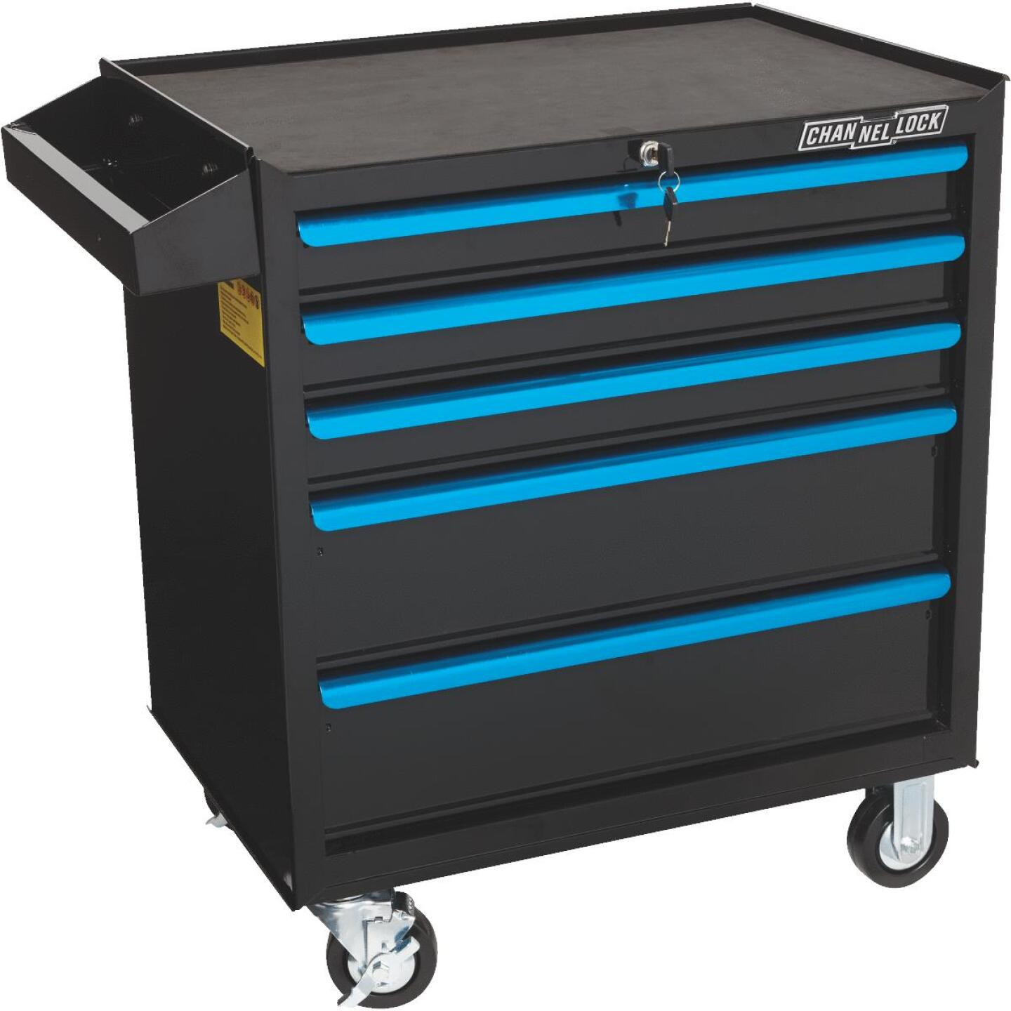 Channellock 26 In. 5-Drawer Tool Roller Cabinet Image 1