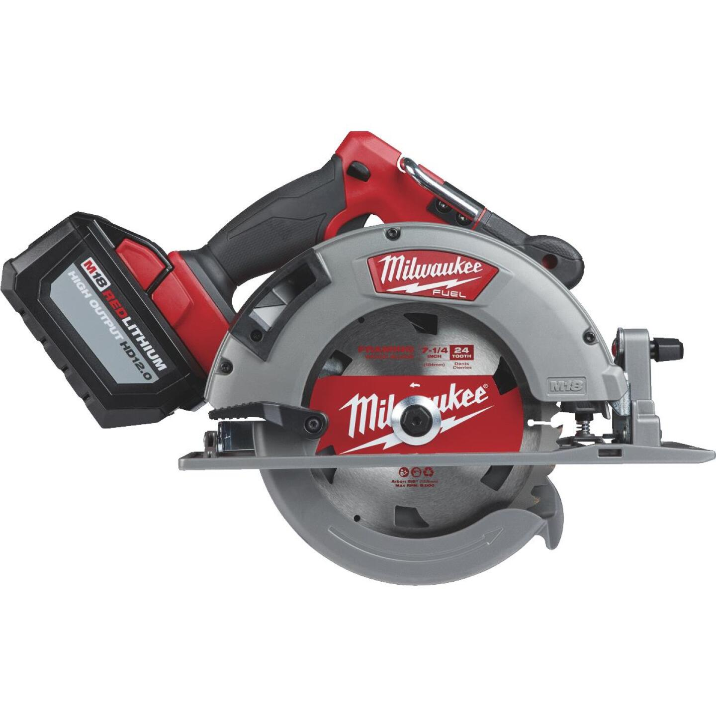 Milwaukee M18 FUEL 18 Volt Lithium-Ion Brushless 7-1/4 In. Cordless Circular Saw Kit Image 1
