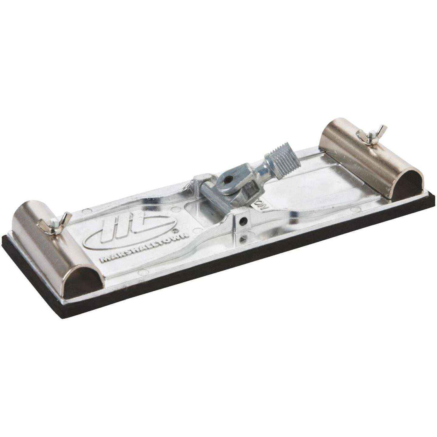 Marshalltown Die-Cast Aluminum 9-1/2 In. x 3-1/4 In. Pole Sander Head Image 1