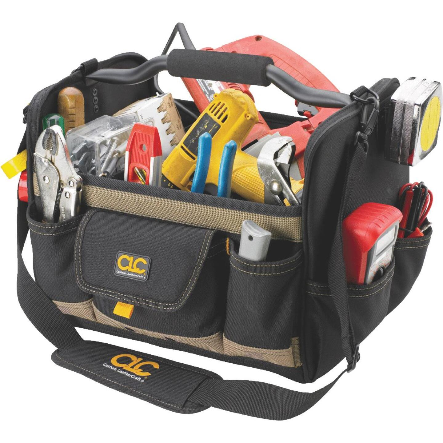 CLC 21-Pocket 14 In. Tool Tote Image 1