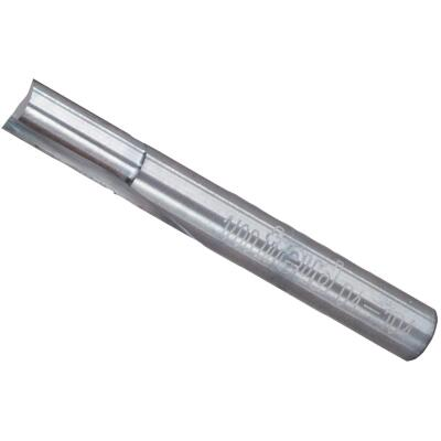 Freud Carbide Tip 1/4 In. Double Flute Straight Bit