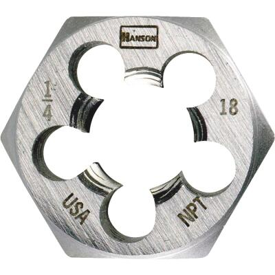Irwin Hanson 4 In. - 36 NS Machine Screw Hex Die