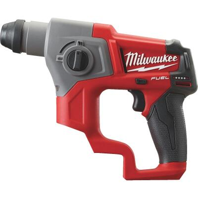 Milwaukee M12 FUEL 12 Volt Lithium-Ion Brushless 5/8 in. SDS-Plus Cordless Rotary Hammer Drill (Bare Tool)