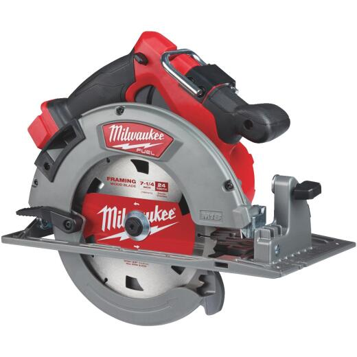 Milwaukee M18 FUEL 18 Volt Lithium-Ion Brushless 7-1/4 in. Cordless Circular Saw (Bare Tool)