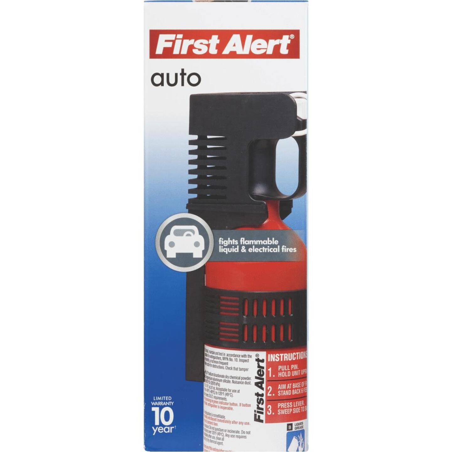 First Alert 5-B:C Auto Fire Extinguisher Image 2