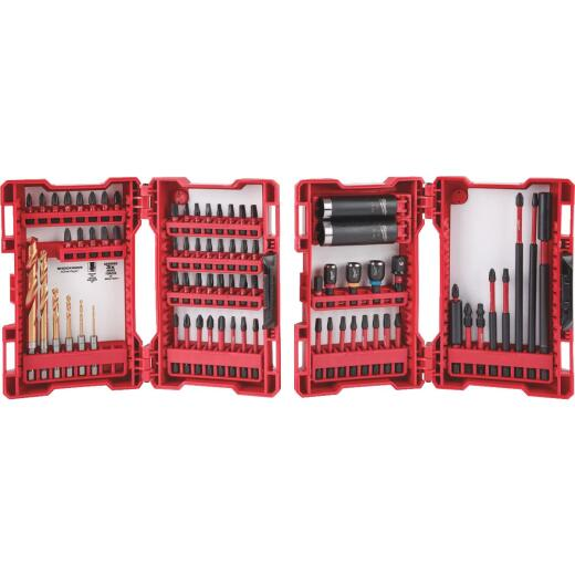 Milwaukee Shockwave 75-Piece Impact Duty Drill and Drive Set