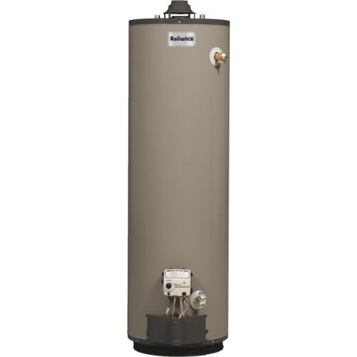 Reliance 50 Gal. 9yr 40,000 BTU Self-Cleaning Natural Gas Water Heater