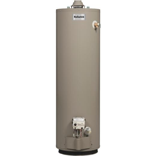 Reliance 50 Gal. Tall 6yr 40,000 BTU Natural Gas Water Heater