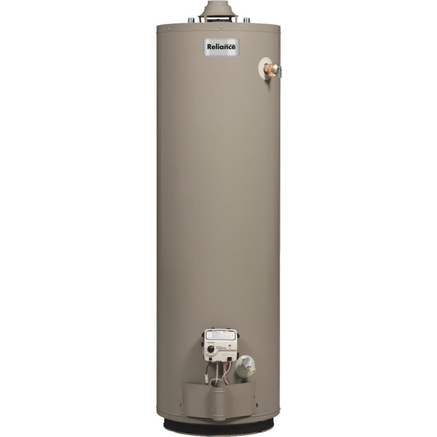 Reliance 40 Gal. Short 6yr 40,000 BTU Natural Gas Water Heater Image 1