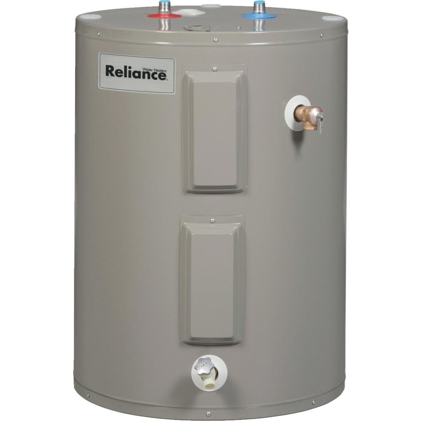 Reliance 30 Gal. Short 6yr 4500/4500W Elements Electric Water Heater Image 1