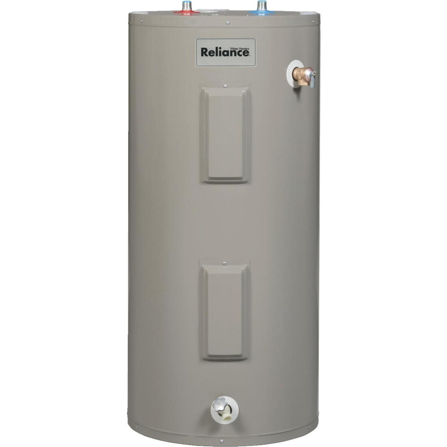 Reliance 40 Gal. Short 6yr 4500/4500W Elements Electric Water Heater Image 1