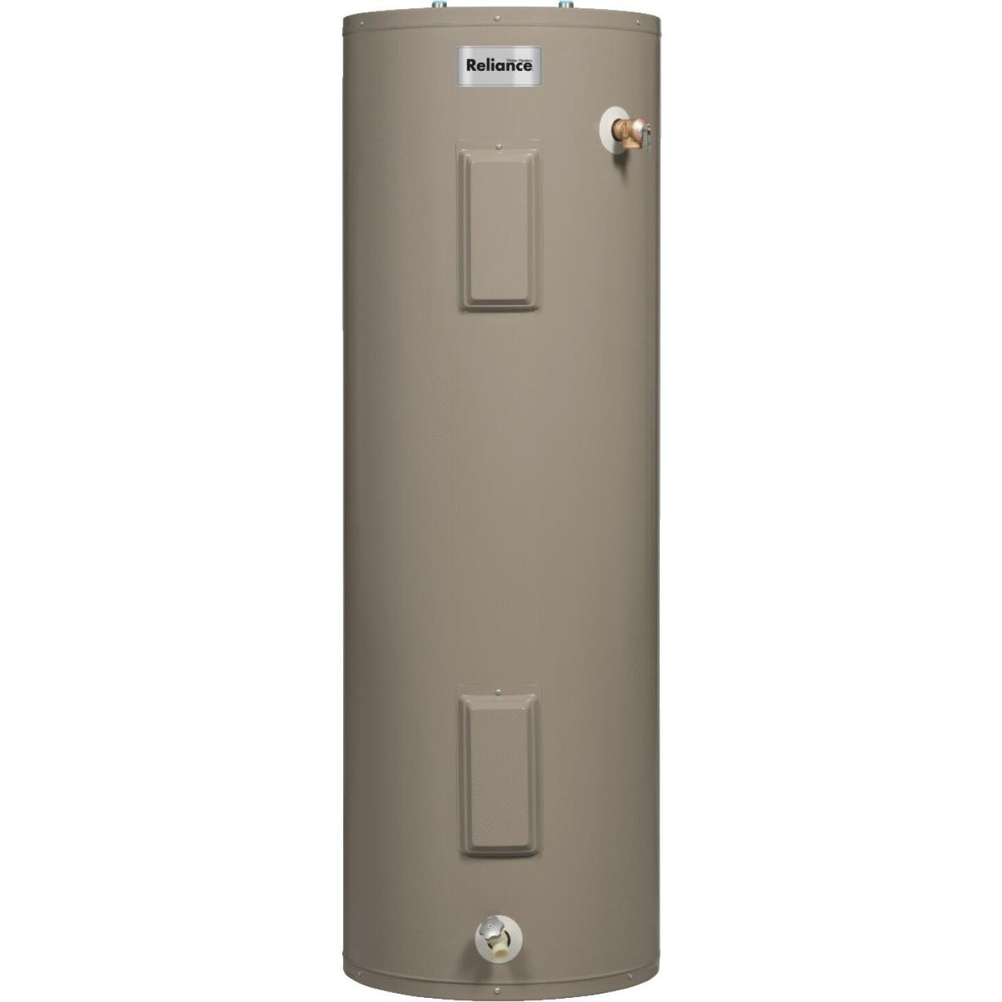 Reliance 40 Gal. Tall 6yr 4500/4500W Elements Electric Water Heater Image 1