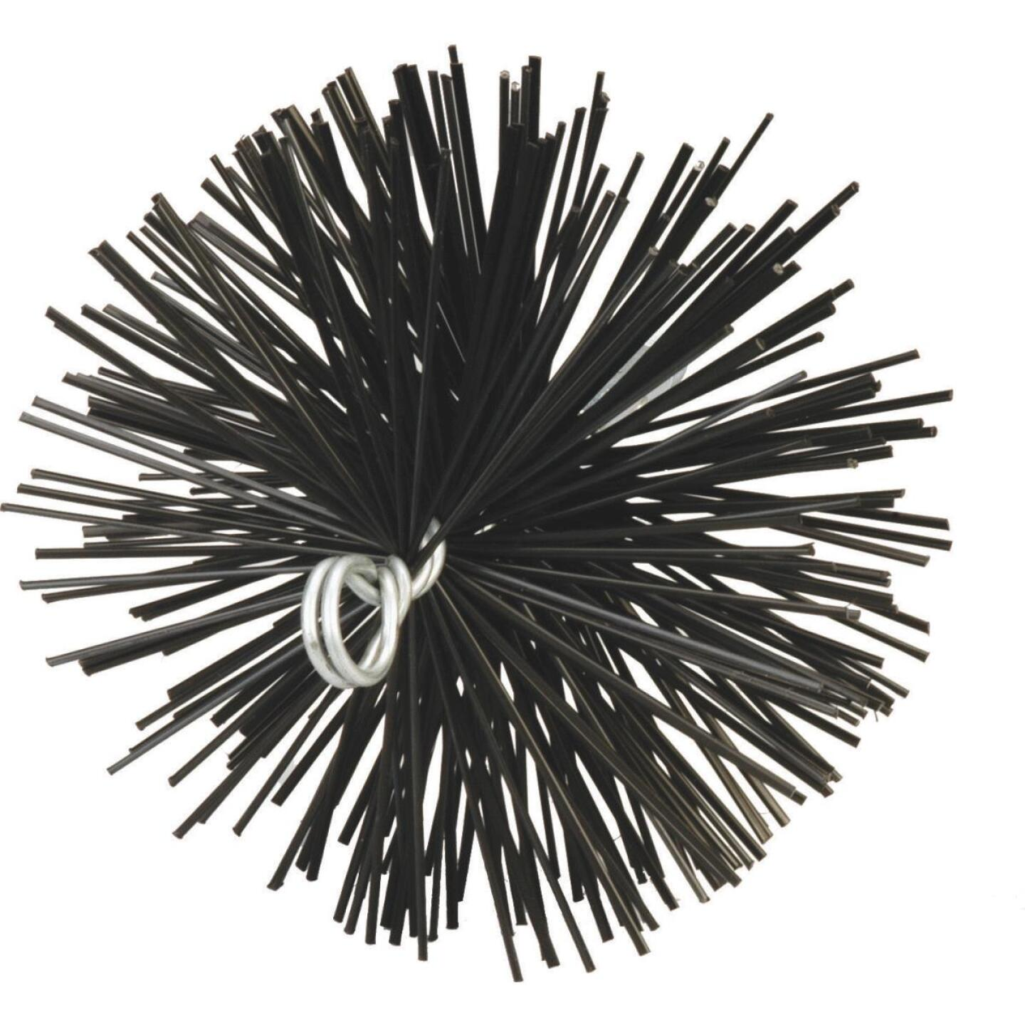 Meeco's Red Devil 8 In. Round Poly Chimney Brush Image 1