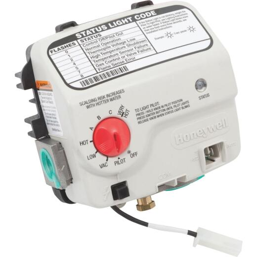Reliance 401 Series 2 In. Shank Honeywell Electronic Liquid Propane (LP) Gas Control Valve And Thermostat