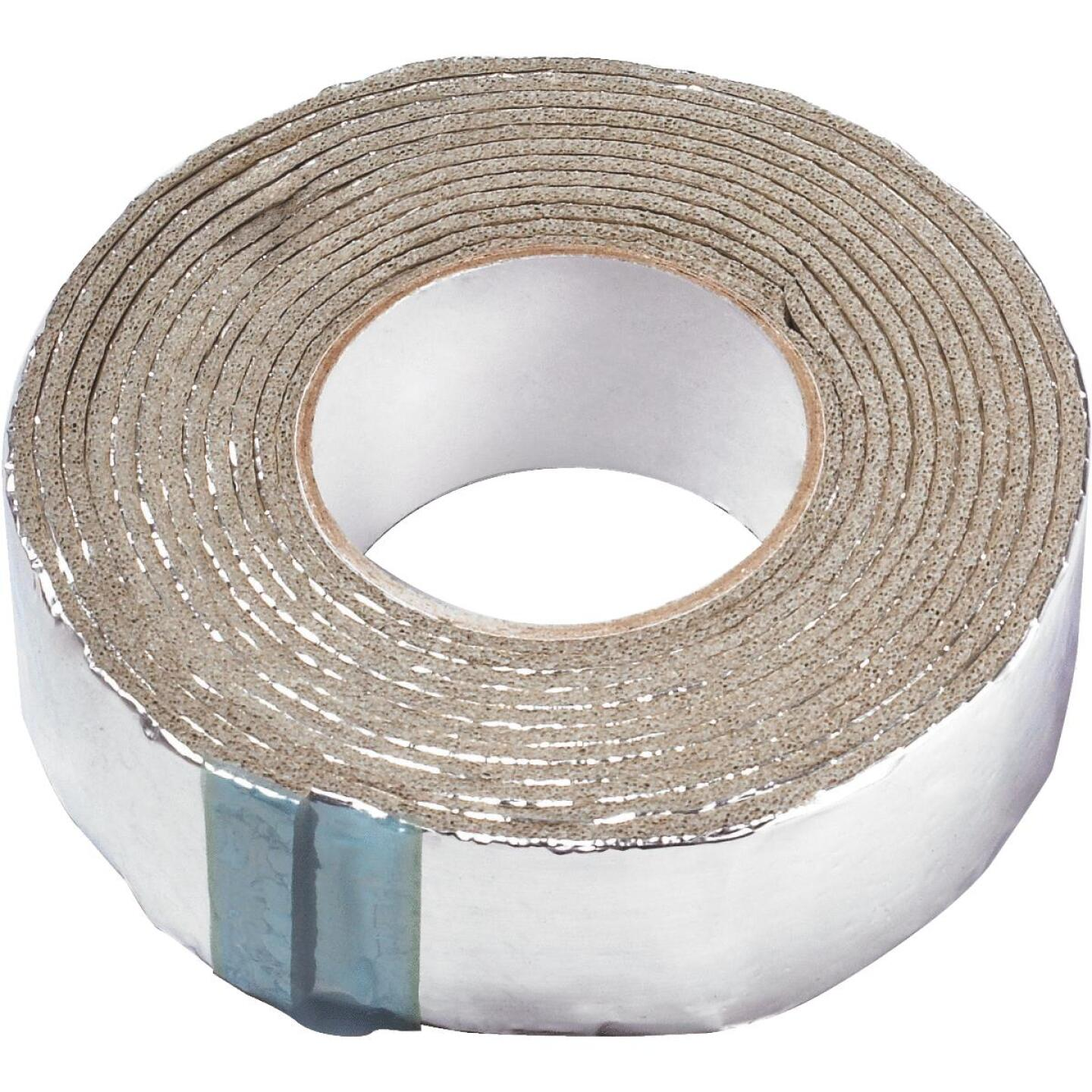Frost King 1/8 In. x 2 x 15 Ft. In. Wall Self-Adhesive Foil and Foam Pipe Insulation Wrap Image 2
